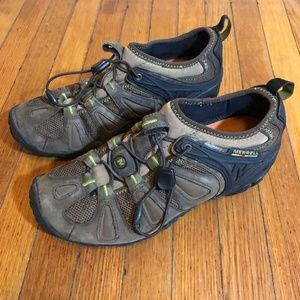 Merrell Mens Size 9.5 Shoes Hiking Outdoor Bungee